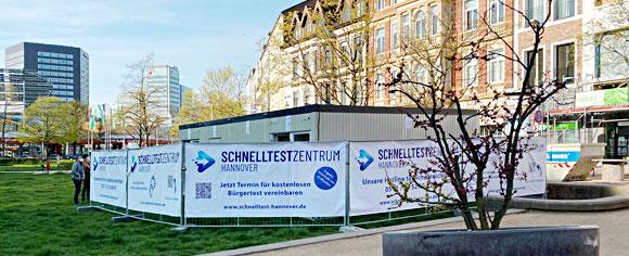 Testzentrum Hannover
